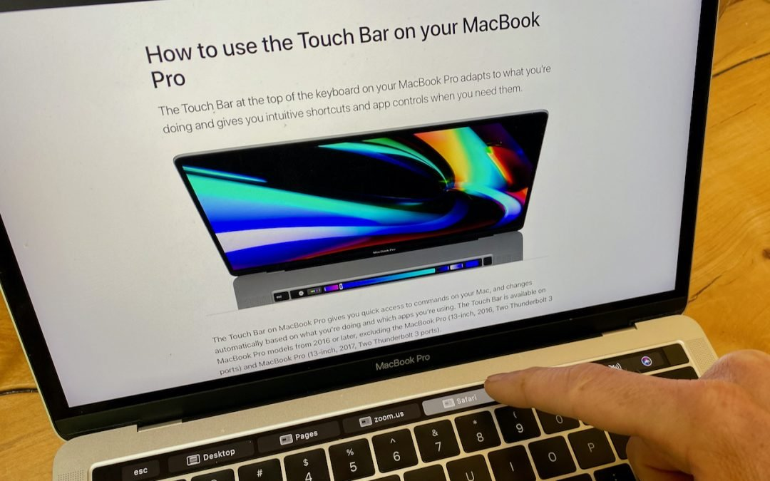 Are You Making the Most of the Touch Bar on Your MacBook Pro?