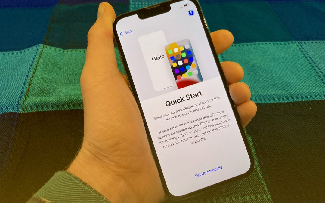 When Migrating to a New iPhone or iPad, Try Quick Start First